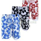 New Mens Summer Surf Board Swim Beach Holiday Sport Floral Print Shorts