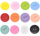 50 Pop  Resin Sewing Buttons 23mm M0001