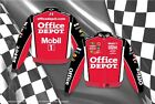 NASCAR Jacket-Tony Stewart Office Depot Mobil 1 Mens Jacket TSO303-OFF1-RED