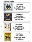 30 Heckle and Jeckle Personalized Address Labels