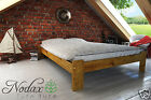 """*NODAX* Wooden Furniture Solid Pine Bedframe Small Double 4ft UK - Colours """"F15"""""""