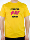 Mens Certified MILF Hunter Comedy T-Shirt - Various Sizes and Colours