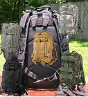 Backpack Medium Transport Pack 72 hour MOLLE & Bladder Compatible Go Bag Padded
