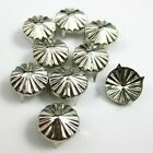 50-10000pcs Sunflowers Round Studs Spots Spike Rivet Punk Claw Bag Nailhead DIY