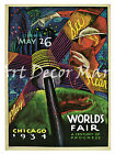 Chicago World's Fair-Sandor - - CANVAS OR PRINT WALL ART
