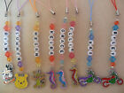 Disney Seahorse Winnie Motorbikes - Bag / Phone Ipod Charm - choose colours