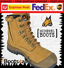 New Mongrel Work Boots Safety Steel Toe Scuff Cap Construction/Tradie 561050