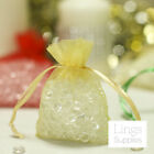 "100 Organza Bags 3x4"" 4x6"" 5x7"" Wedding Favor Christmas Gift Jewelry Candy Pouch"