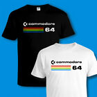 COMMODORE 64 [C64] COMPUTER T-SHIRT - Cool Retro 80s Video Games / PC GAMER TEE