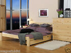 "King Size Bed 5ft ""OPHELIA"" NEW Wooden Solid Pine Oak Walnut Alder"