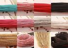 5 Meters Man-made Leather Braid Rope Hemp Cord For Necklace Bracelet 14 Colors