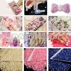 2000x 14 Facets Resin Rhinestone Gem Flat Back Crystal AB Beads 3mm DIY 17Colors