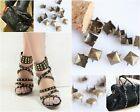 200pcs Antique Round/Aquare Studs Punk Rock Rivet Spike For Clothing Shoes Bags