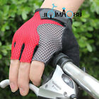 Sales NEW Cycling Bike Bicycle Half Finger breathe freely Gloves Size M - XL Red