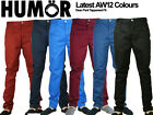 Brand New Latest Humor Jeans Chinos Dean Pant Tight Fit Drop Crotch colours
