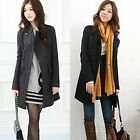 Hot sale! Women's trend of double-breasted wool coat Korean Style Free Shipping