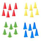 "set of 6pc 6.7"" WITCHES HAT AGILITY MARKER CONES ) SOCCER FITNESS TRAINING RUGBY"