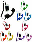 10 Color POP Retro Mobile Handset 3.5mm Jack For iPhone iPad Cell Phone Computer