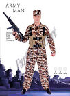 Mens popular costume Army man costume- 3 sizes