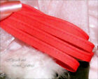 Bright RED PIPING CORD Bias Binding covered Insertion welt flange tape lip trim