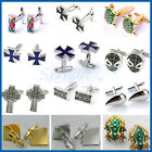 13CHOICES Mens Stainless Steel CROSS/STAR WARS/TURTLE Cufflinks Shirt Cuff links
