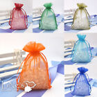 200 pieces Sheer Organza Wedding Annual Dinner Party Favor Gift Candy Bags Pouch