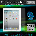 Anti-Glare Matte Screen Protector Guard Film Wholesale for iPad-4G 3 2 4th3rd2nd