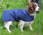 COSIPET SHOWERPROOF QUILTED ANORAK DOG COAT/JACKET WITH VELCRO FASTENING