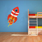 Space Rocket Vinyl Wall Art Design - Childrens Rocket Design - Various Sizes