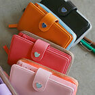 New Fashion Ladies PU Leather Zipper Coin Wallet Purse Cluth Bag Phone Handbag