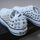 Genuine CONVERSE All-star row-top with studs Sneakers Sheos White