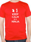 KEEP CALM IM A NINJA - Martial Arts / Sport / Karate / Fun Themed Mens T-Shirt