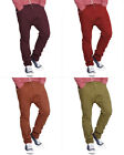 Mens Soul Star Chinos Canvas Drop Crotch Cargo Chino Pants Carrot Jeans Trousers