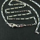 Sterling Silver Necklace Box Chain 3mm (16 to 36'') 925 Italy. Wholesale Bulk