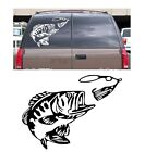 Bass fishing decal sticker boat abu garcia reel berkley big large rapala zoom