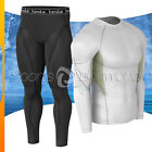 New Mens Compression Under Base Layer Gear Shorts Wear Shirt & Pant R09WSP06BB
