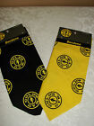 GOLD'S GYM ® BANDANA  BLACK OR YELLOW NEW IN PACKAGE RETAIL:  $8.99