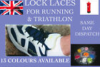 2 PAIRS ELASTIC LACES WITH LOCKS - LOCK LACES FOR RUNNING AND TRIATHLON