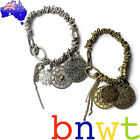 New Bronze Silver Chunky Charm Bracelet - Free Shipping - Trusted Aussie Seller