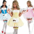 Ladies Sexy Dorothy Bo Peep Fairy Tale Fancy Dress Costume Outfit 8-26 Plus Size