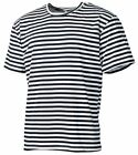 RUSS. MARINESHIRT Streifen Sailor Marinehemd Matrosenhemd T-Shirt Marine TOP