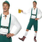MENS OKTOBERFEST GERMAN BEER FESTIVAL FANCY DRESS BAVARIAN LEDERHOSEN COSTUME