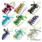 【Shoelaces】Spark Bling Dance Show Party Shoe Lace Bootlace Adult Kid Celebrity