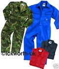 NEW KIDS CHILDS BOYS GIRLS BOILERSUIT OVERALLS COVERALL