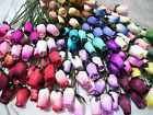 WHOLESALE CLEARANCE SALE MIXED BOX WOODEN ROSES OF ALL COLOURS IN STOCK JOB LOT