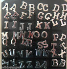 Steel Initial / Letter Stud Earrings A to Z Pair or Single