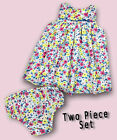 NEW Girls MINI/BABY BODEN Floral Summer Dress+Matching Knickers/Pants 0-24m Set