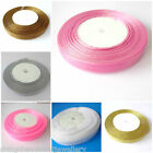 45 M Sheer Organza Ribbon 10mm 12mm Choose Colour