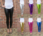 LONG length Leggings Ultrashine with Spandex SIZES 8 - 18  Tall