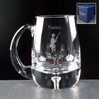 PERSONALISED ENGRAVED SHOOTING BUBBLE BASE GLASS TANKARD INC YOUR ENGRAVING NEW